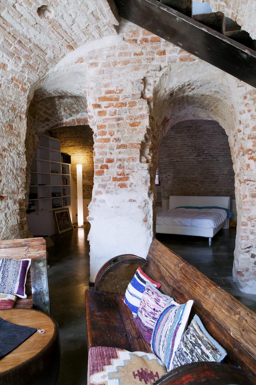 Exposed Brick Gap Studio