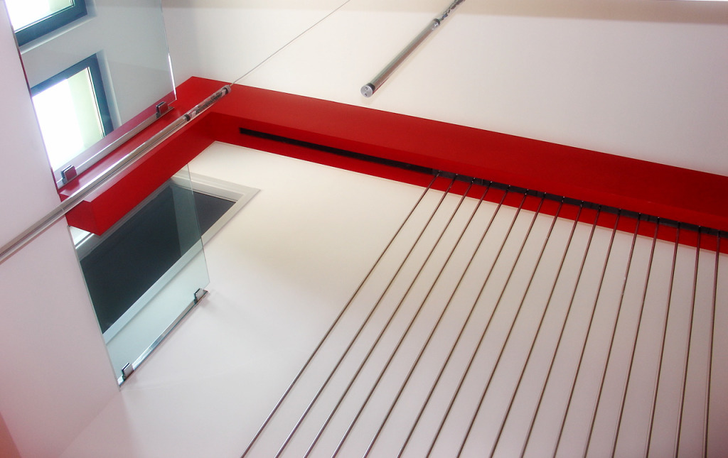 staircase_red_metal_working spaces